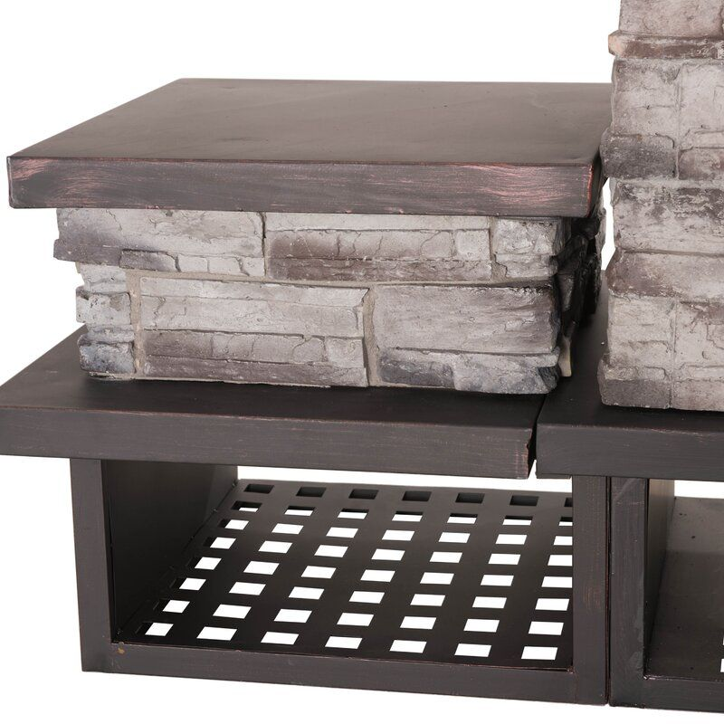 Pin on Outdoor living on Quillen Steel Wood Burning Outdoor Fireplace id=31878