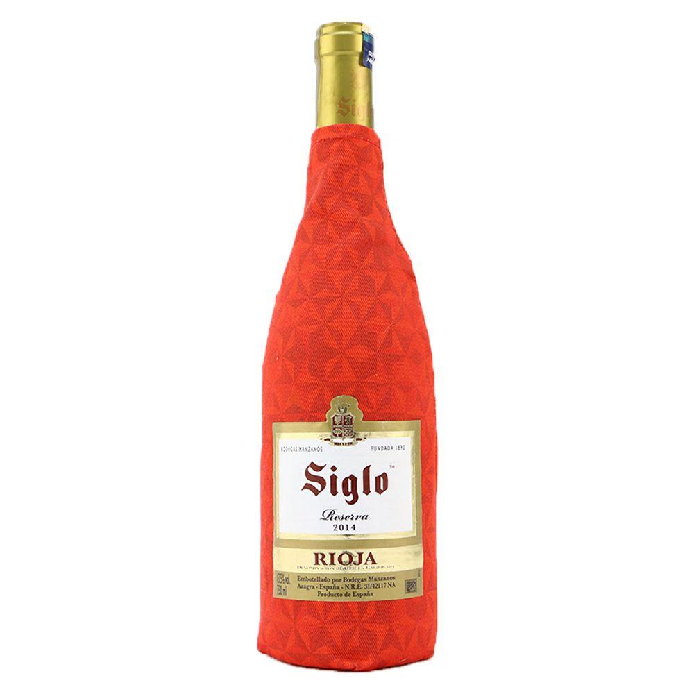Siglo Rioja Reserva In 2020 Red Wine Tempranillo Gold Peak Tea Bottle