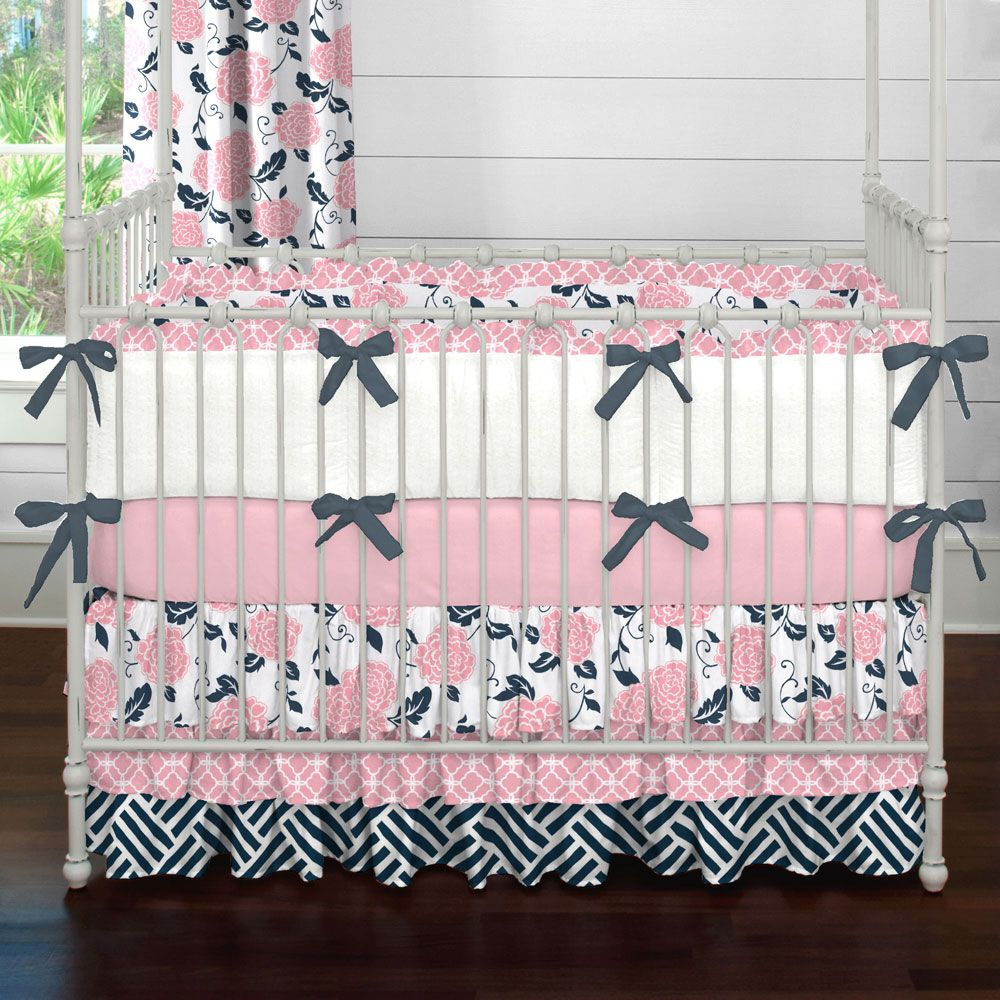 Crib Bedding Sets Clearance With Images Baby Girl Nursery Pink