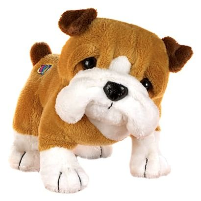 Webkinz Bull Dog With 4 Accessories Webkinz Stuffed Animals Toy