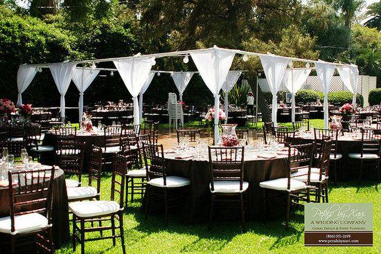 Inexpensive Outdoor Wedding