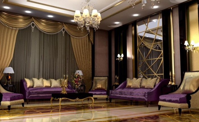 gold living room ideas arabian luxury living luxury and house 11882