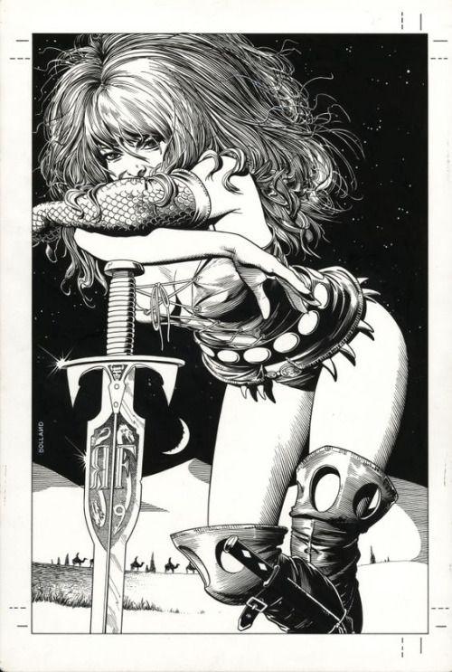 Art by Brian Bolland