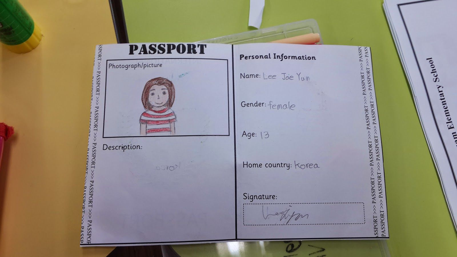 Around The World Summer Camp Free Worksheets And