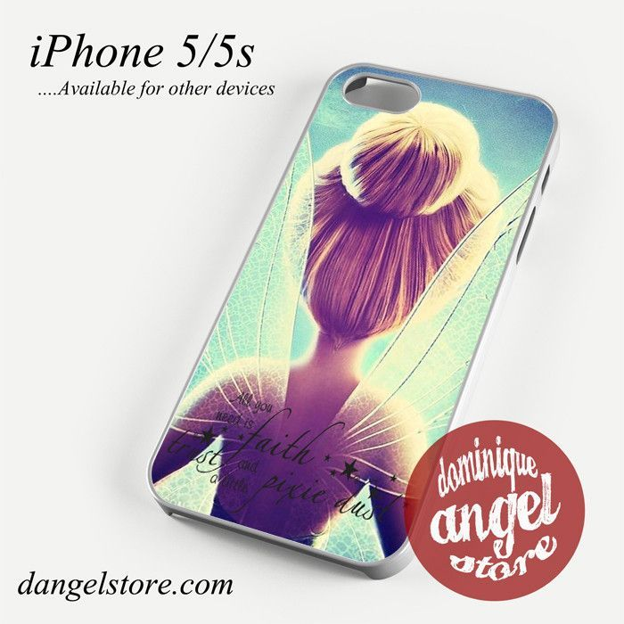 Tinker Bell Quotes Phone case for iPhone 4/4s/5/5c/5s/6/6s/6 plus