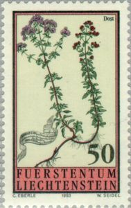 Sello: Flowers (Liechtenstein) (Flowers) Mi:LI 1069,Yt:LI 1010,Zum:LI 1011