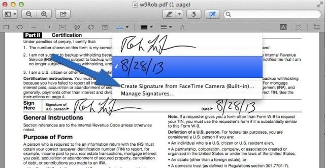 How To Sign A PDF Form On Your Mac Without Printing It OS X Tips - Service Forms In Pdf