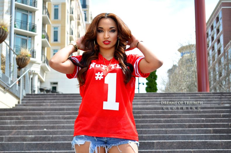 ladies NOT the 1 2 FVCK with jersey: now available at: www.dreamsoftriumph.bigcartel.com