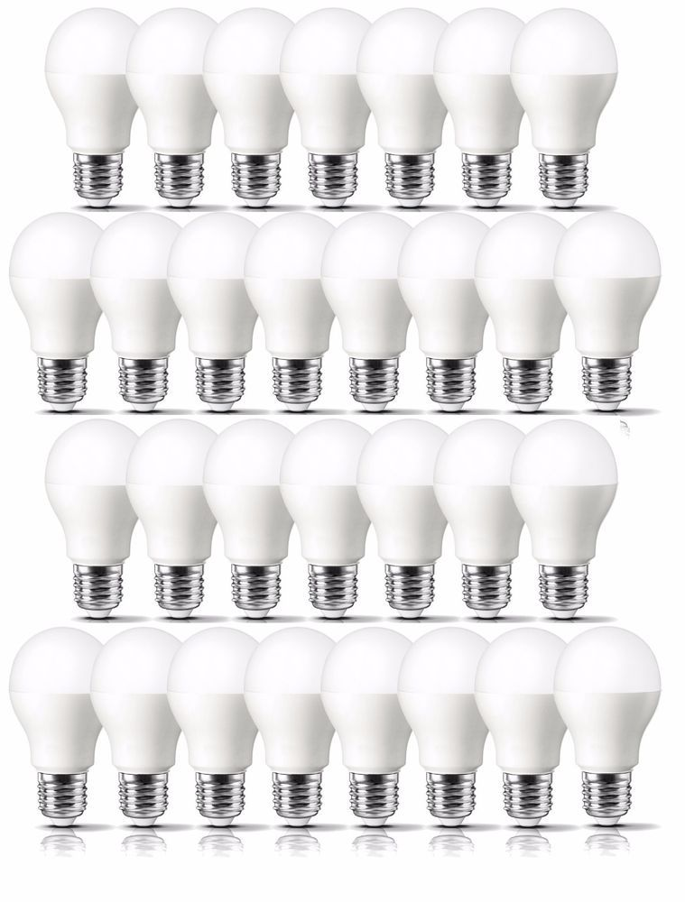 Led Light Bulb Daylight: LED Light Bulbs Lot Of 30 With FREE Delivery 60 Watt