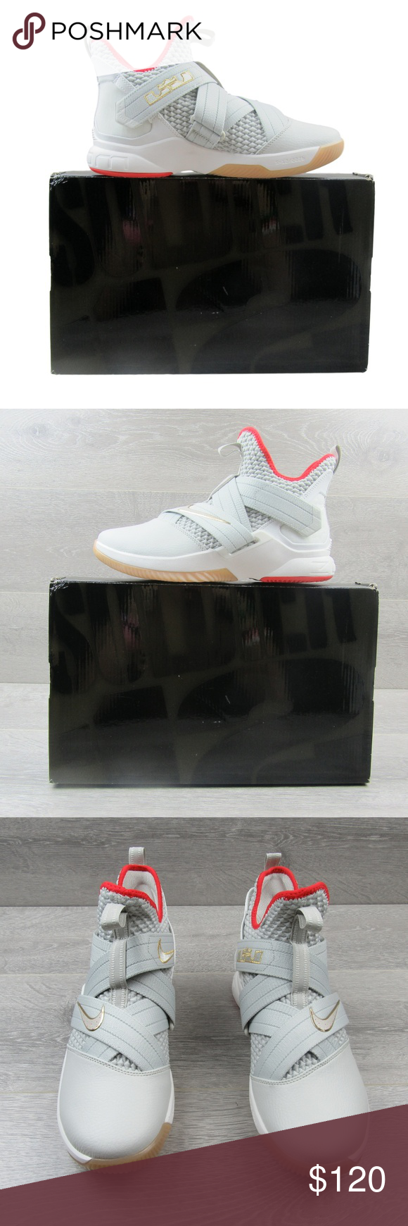 b3d4c3ac4aa0 Nike LeBron Soldier XII Basketball Shoes Size 8.5 Nike LeBron Soldier XII  SFG Basketball Shoes Men s