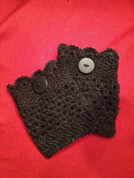Scalloped Boot Cuffs | Pinterest | Stulpen, Handschuh und Selfmade