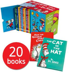 The Cat in the Hat, Green Eggs and Ham, How The Grinch Stole Christmas, Horton Hears a Who... Dr. Seuss' creations are timeless and here you can read all of the stories starring this zany cast of characters for one unbelievable Book People price.