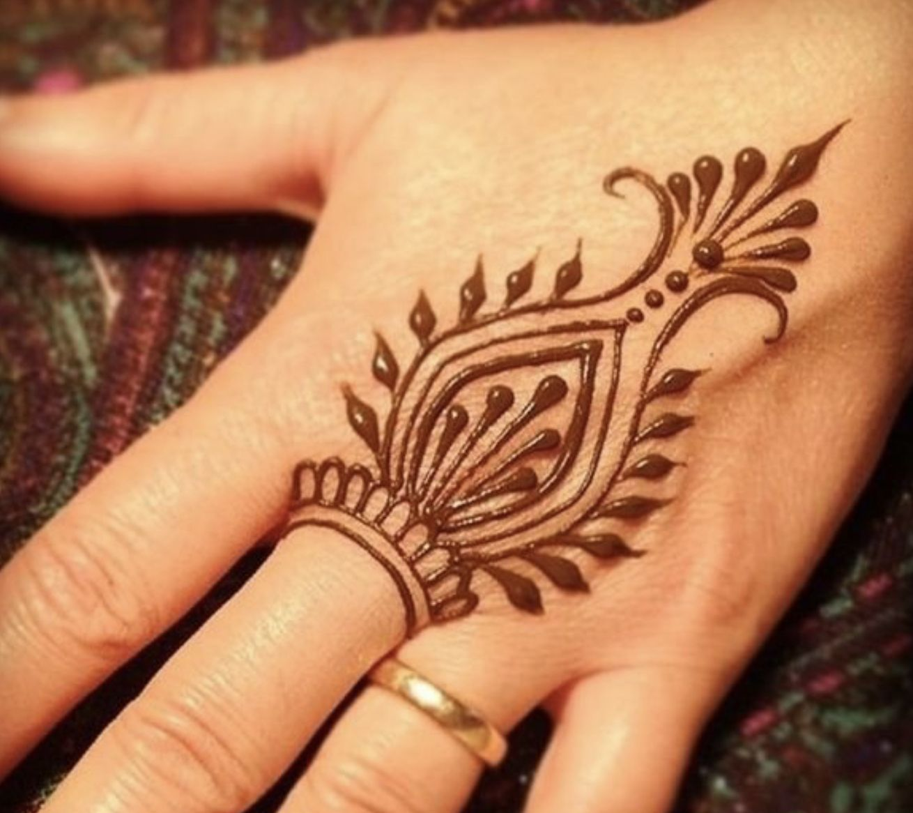 Hi Everyone This Is My First Time Posting So I Don T Really Know What To Say I Really Hope You Like Th Simple Henna Tattoo Henna Designs Henna Tattoo Designs