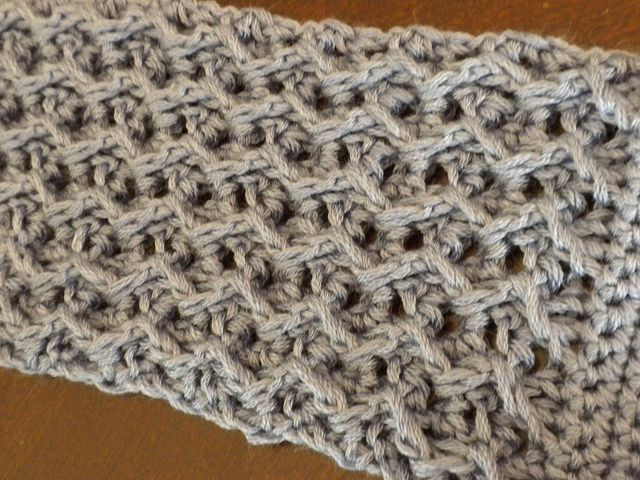 ZigZag Headband by Crafty Kitten, Pretty texture