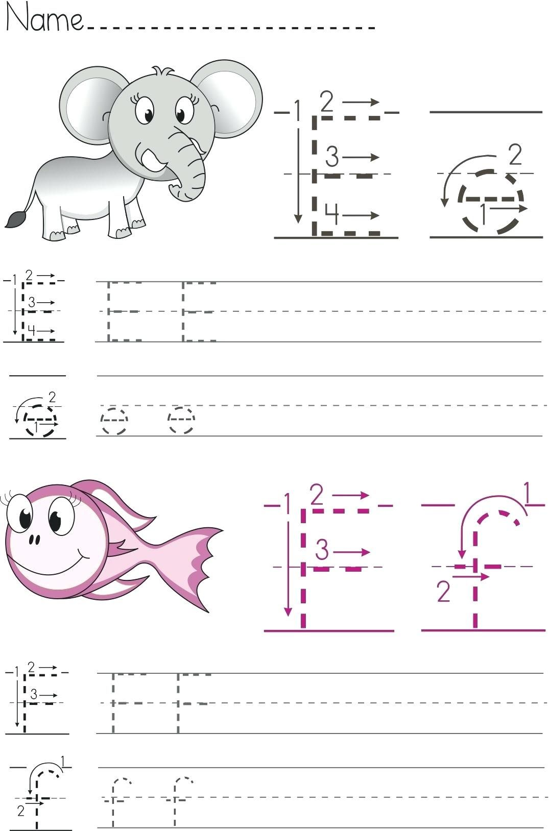 Abc Worksheets For Preschool