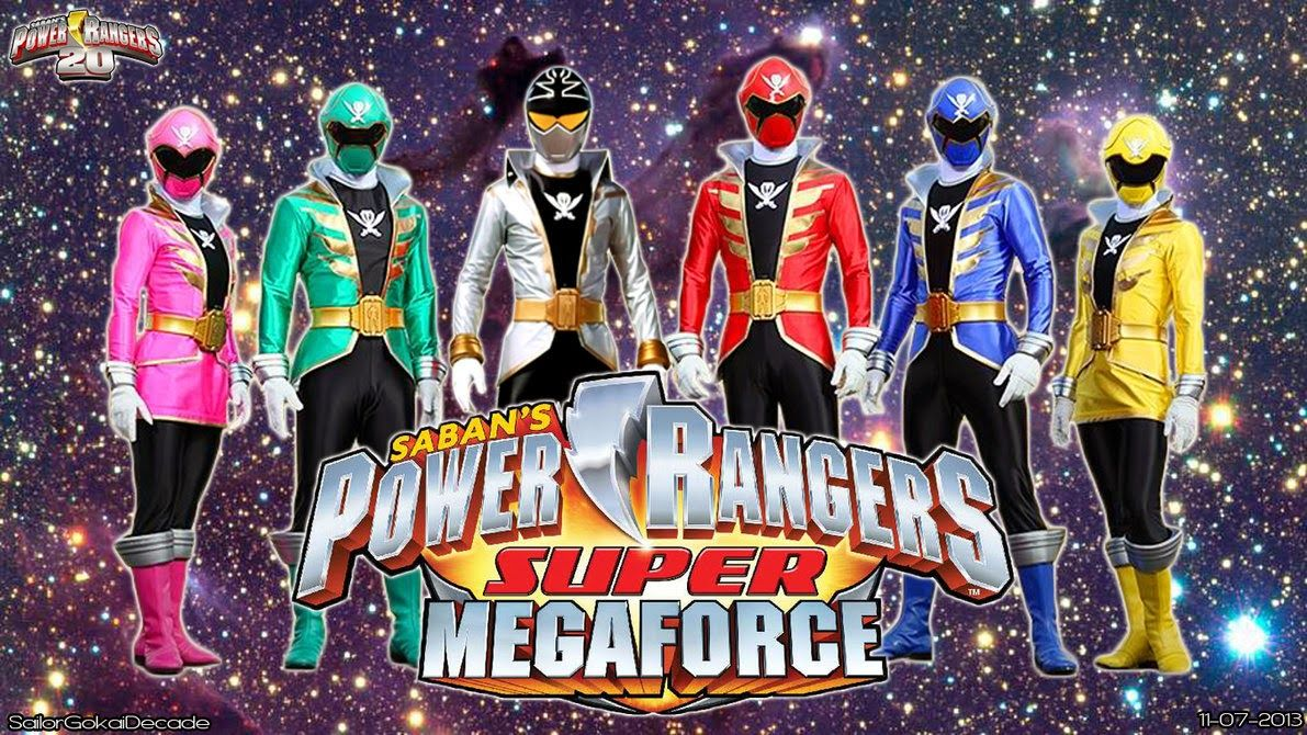 power rangers super megaforce | in just 2 months as of this post ...