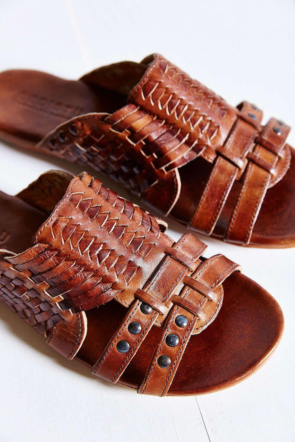 e006c49af00e Slip-On Huarache Sandals -  urbanoutfitters