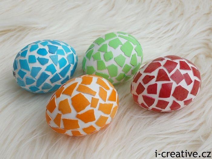 skořápková velikonoční vajíčka