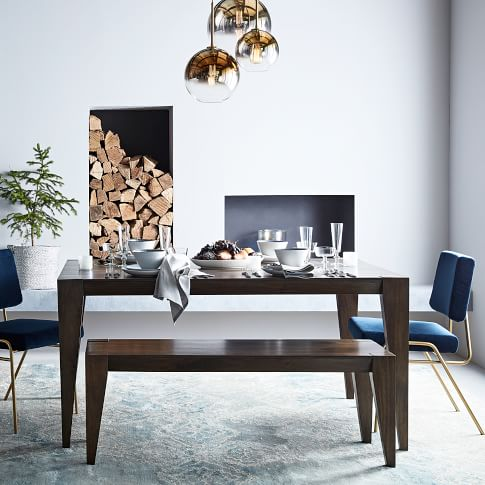 Anderson Expandable Dining Table 42 90 Quot Carob With Images