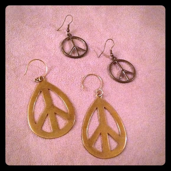 Download Earrings peace sign bundled Peace sign bundle Jewelry ...
