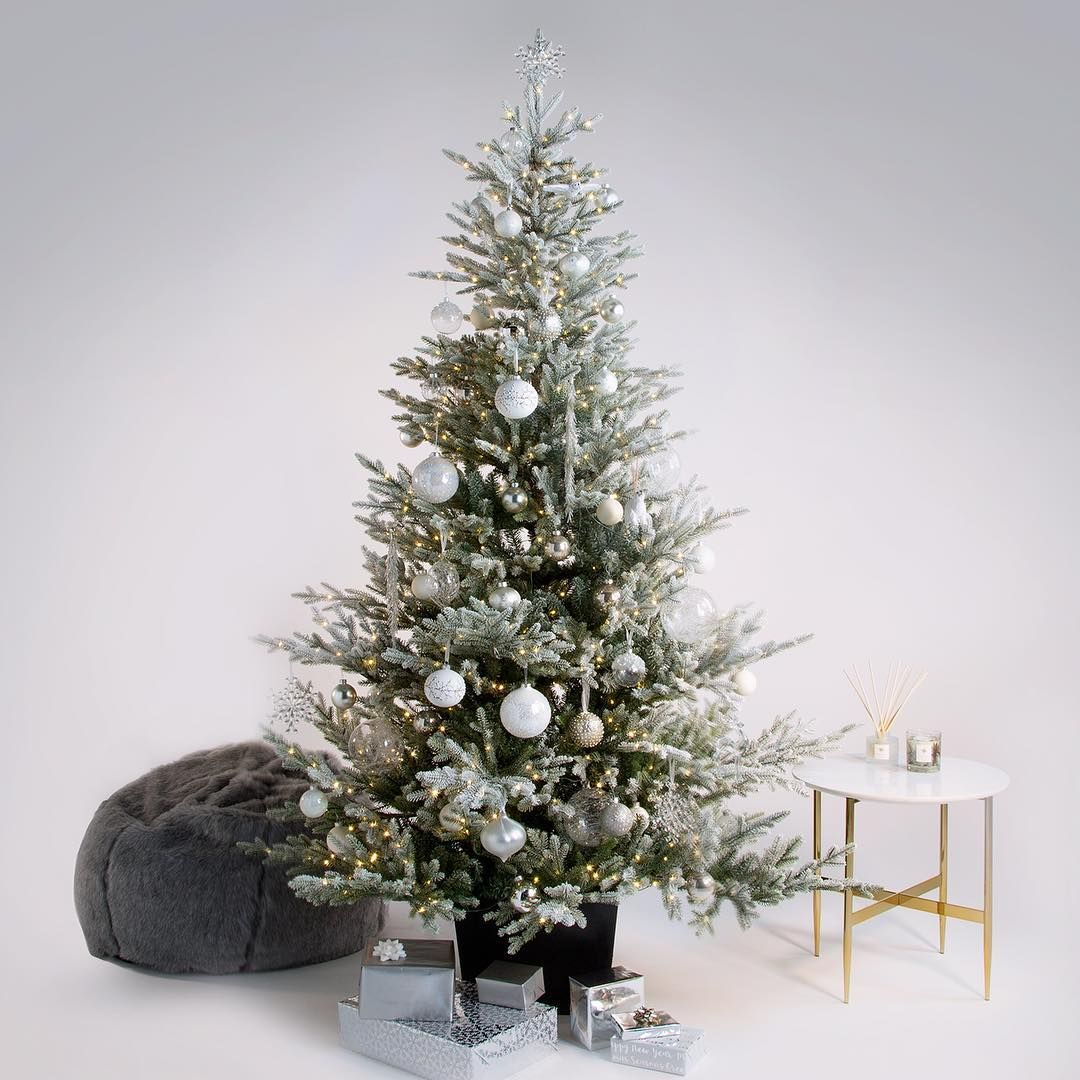John Lewis Partners On Instagram The Moonstone Tree Is Inspired By Crisp Moonlit Nights And Snow Covered Landscapes Jlchristma Tree Inspiration Fall Decor