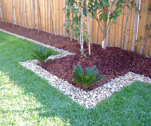 30 Best Side Yard Garden Design Ideas For Your Beautiful: 15 Wonderful Garden Edging Ideas With Pebbles And Stones