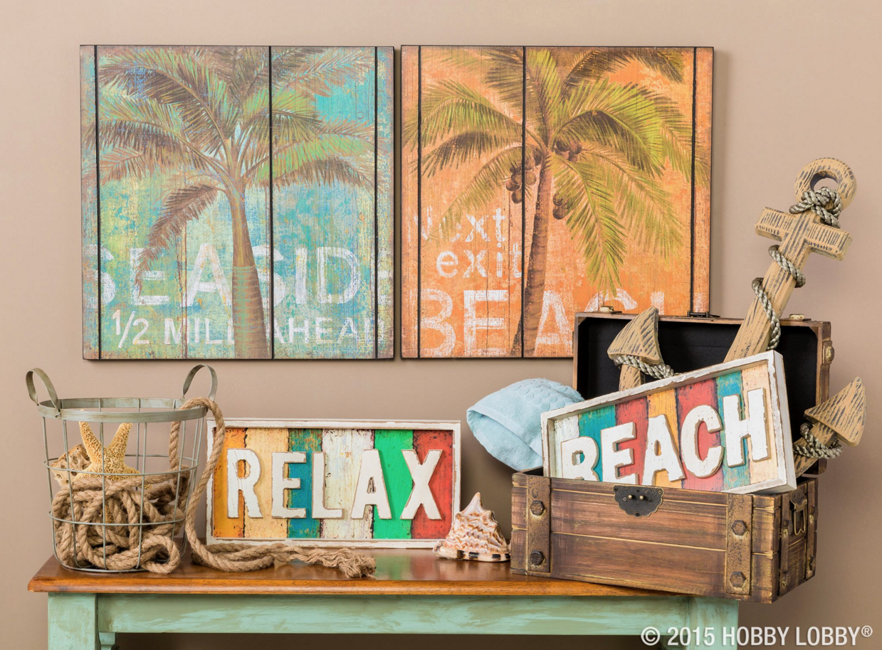 Set Sail For Seaworthy Style With Décor The Whole Crew Will Enjoy Open Road Brands At Hobby Lobby