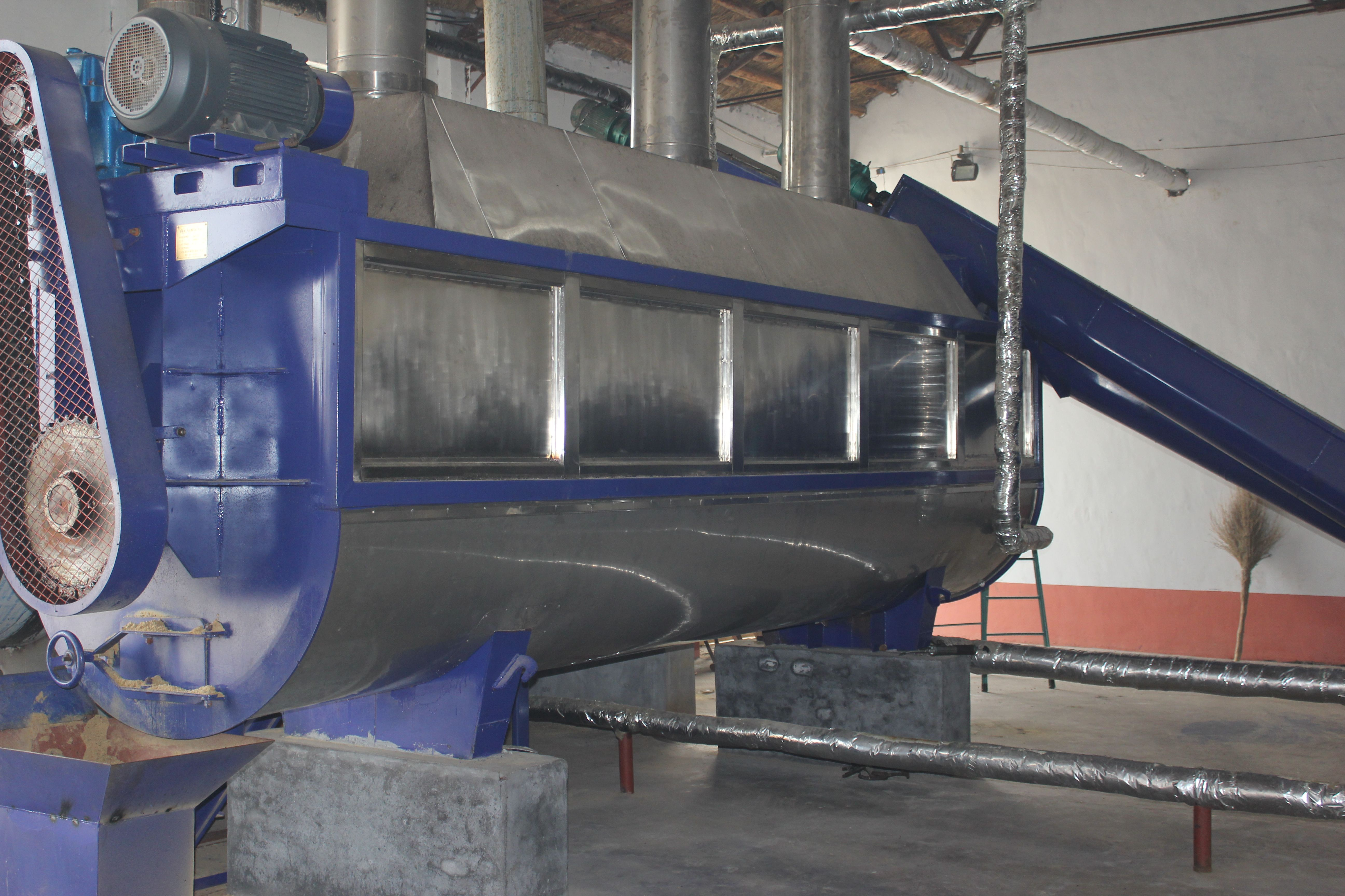 Animal Rendering Plant Continous Working Silo Manufacturing Material Handling Silos