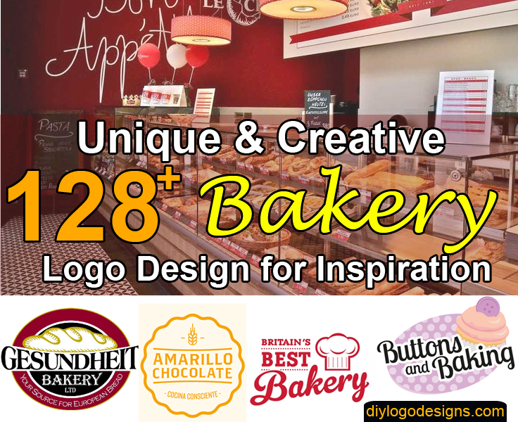 128+ Delicious Bakery Logo Design Inspiration for Your