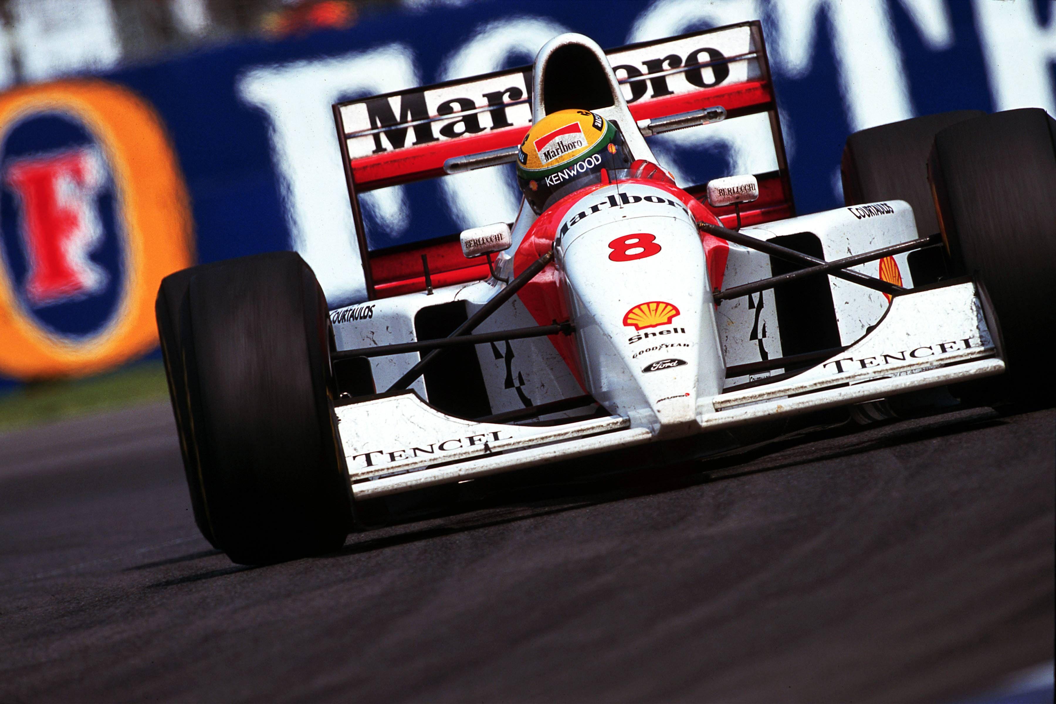1993 Australian GP, Ayrton Senna, MP44