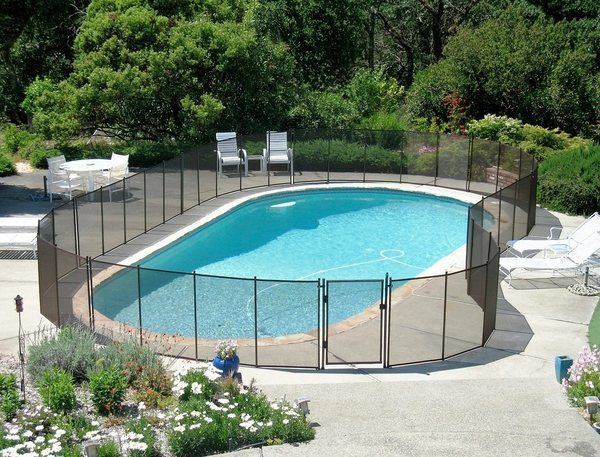 Pool Fence Ideas Protective Fencing For Your Garden Pool Pool Fence Pool Safety Fence Building A Fence
