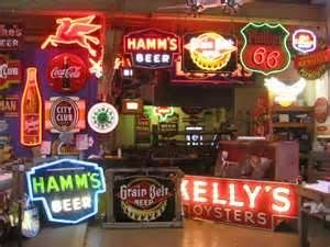 Vintage Neon Beer Signs Alluring Vintage Neon Beer Signs  Vintage And New Beer Ads  Pinterest