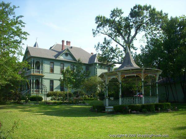 The Beautiful Victorian Wood Hughes House And Garden Gazebo In Brenham Tx Fancy Houses Victorian Homes Beautiful Homes