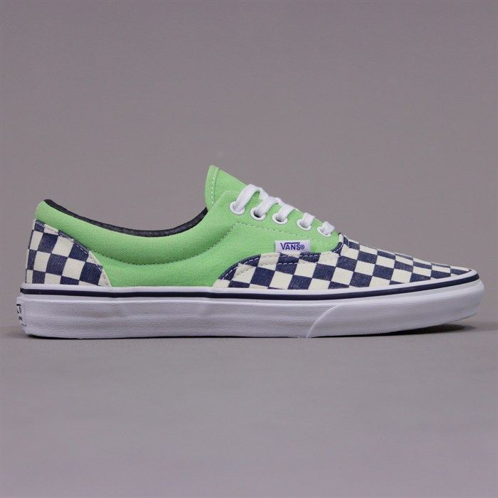 37ef63771168 ... timeless design a082a fcc21 Vans Era Van Doren Shoes - Checker Green.