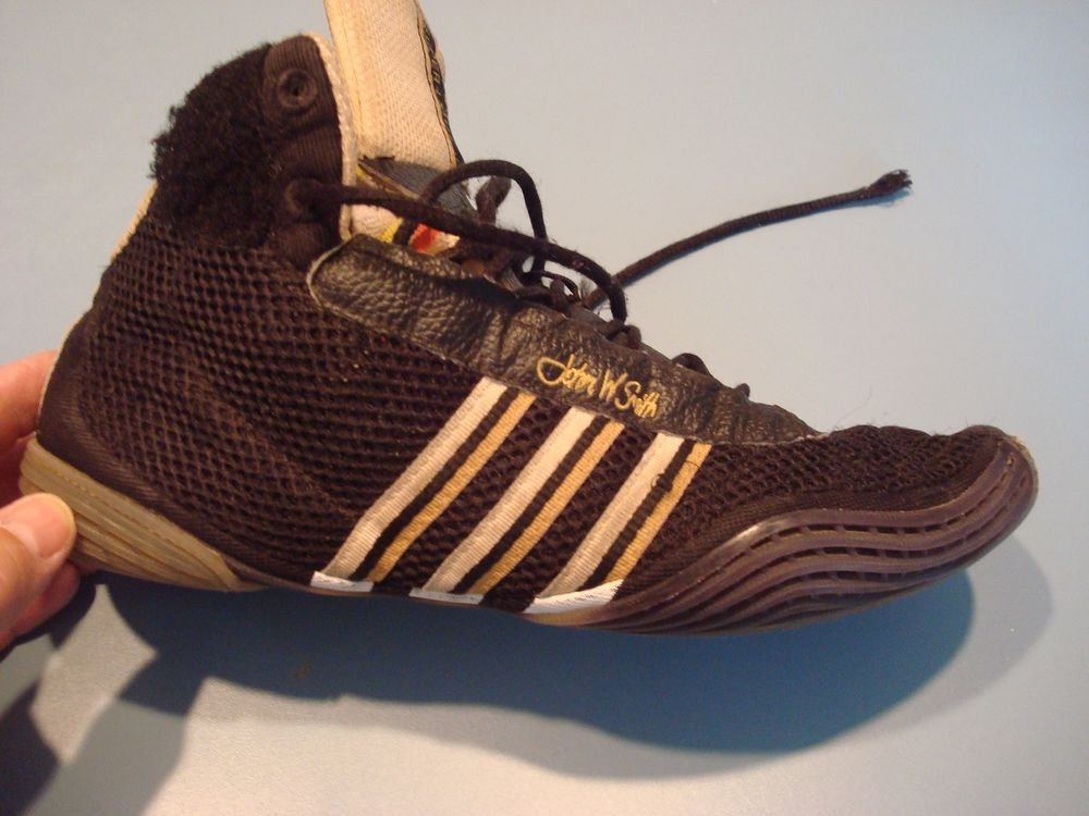Very Rare Adidas Adistar Wrestling Shoes! ONE 7 1/2 John Smith ...
