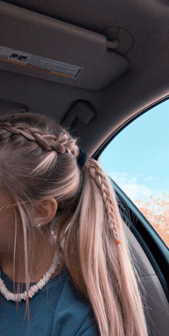 20 Under Braids Ideas To Disclose Your Natural Beauty Cute Braided Hairstyles Medium Hair Styles Medium Length Hair Styles