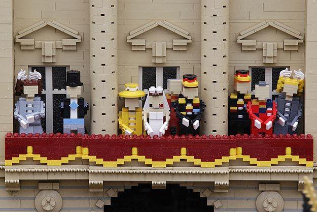Royal Wedding Lego Build