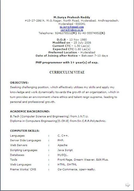 top 10 resume format free download 114 resume examples templates top