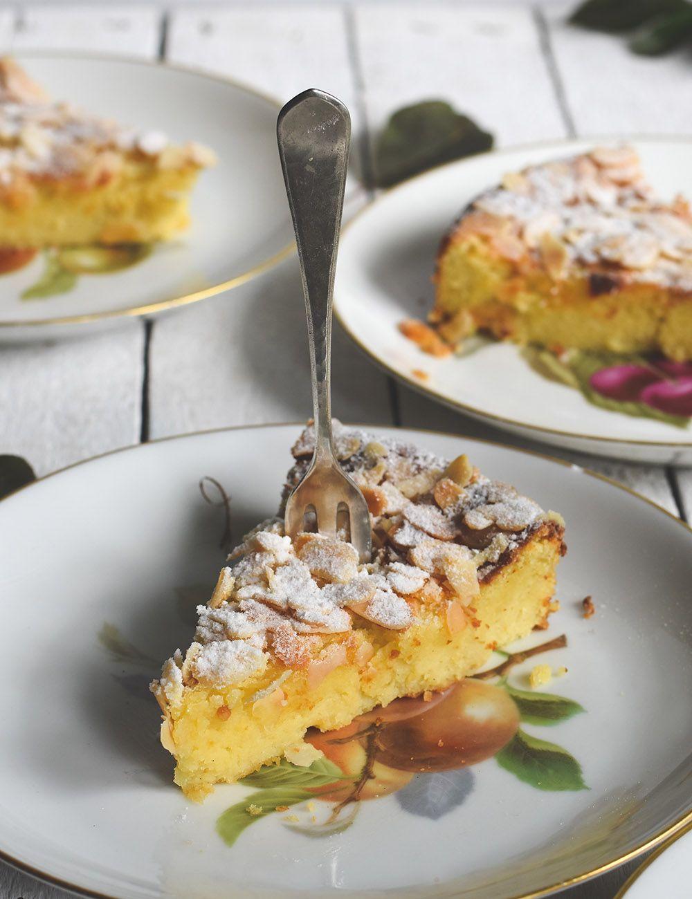 Sehr Saftiger Ricotta Mandel Kuchen Mit Oder Ohne H Imbeeren Mit Bildern Rezepte Lecker Ricotta
