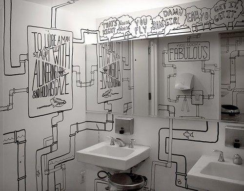 Lezioni di disegno architettura e design a roma architettura e design a roma decoracion - Banos con paredes pintadas ...