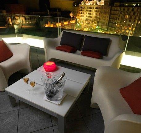 Terraza Alaire En El Hotel Condes De Barcelona Ideal Para