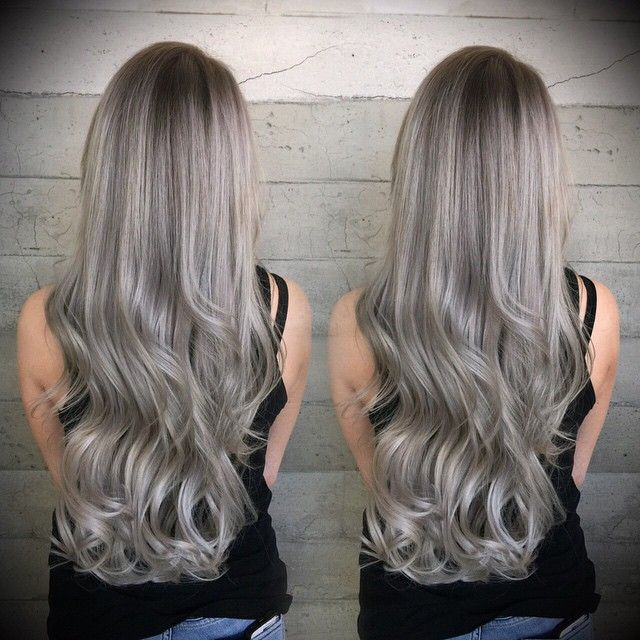 Silver Ash Blonde Hair Color Ash Blonde Hair Colour Blonde Hair Color Dark Roots Hair