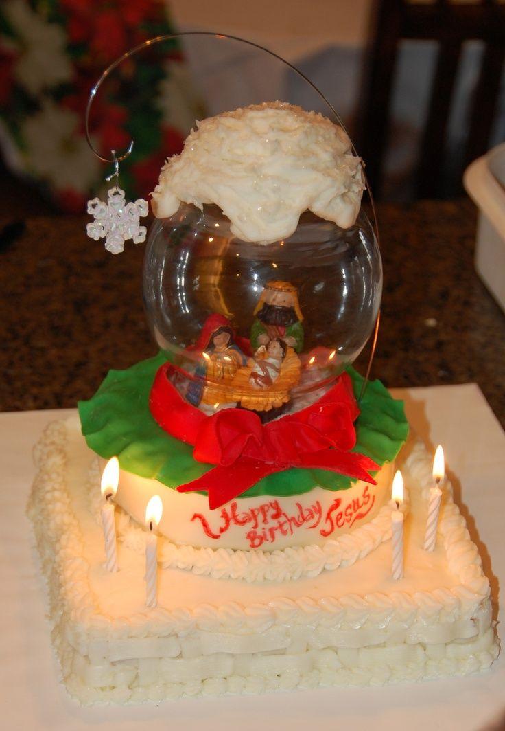 Christmasholidays happy birthday jesus cake happy