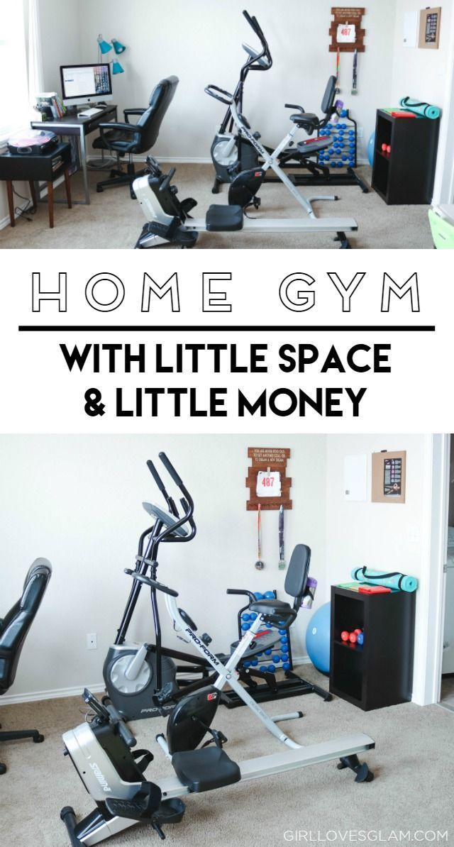 Home Gym With Little Space And Little Money At Home Gym Gym Room At Home Office Workout Room