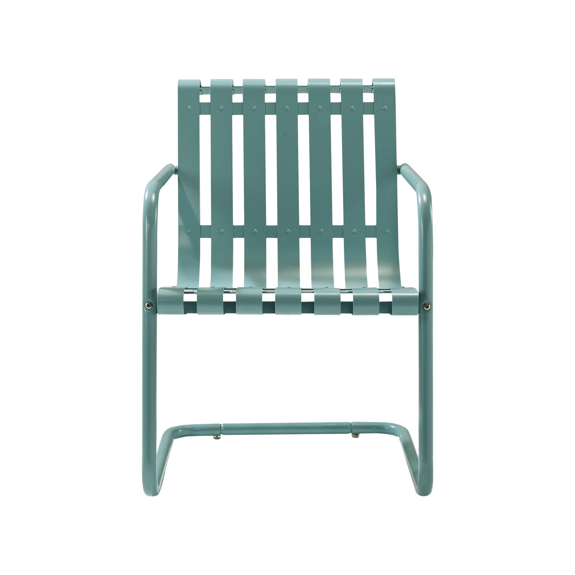 Crosley Gracie Retro Spring Arm Chair Lounge Chair Outdoor Outdoor Chairs Outdoor Bistro Set
