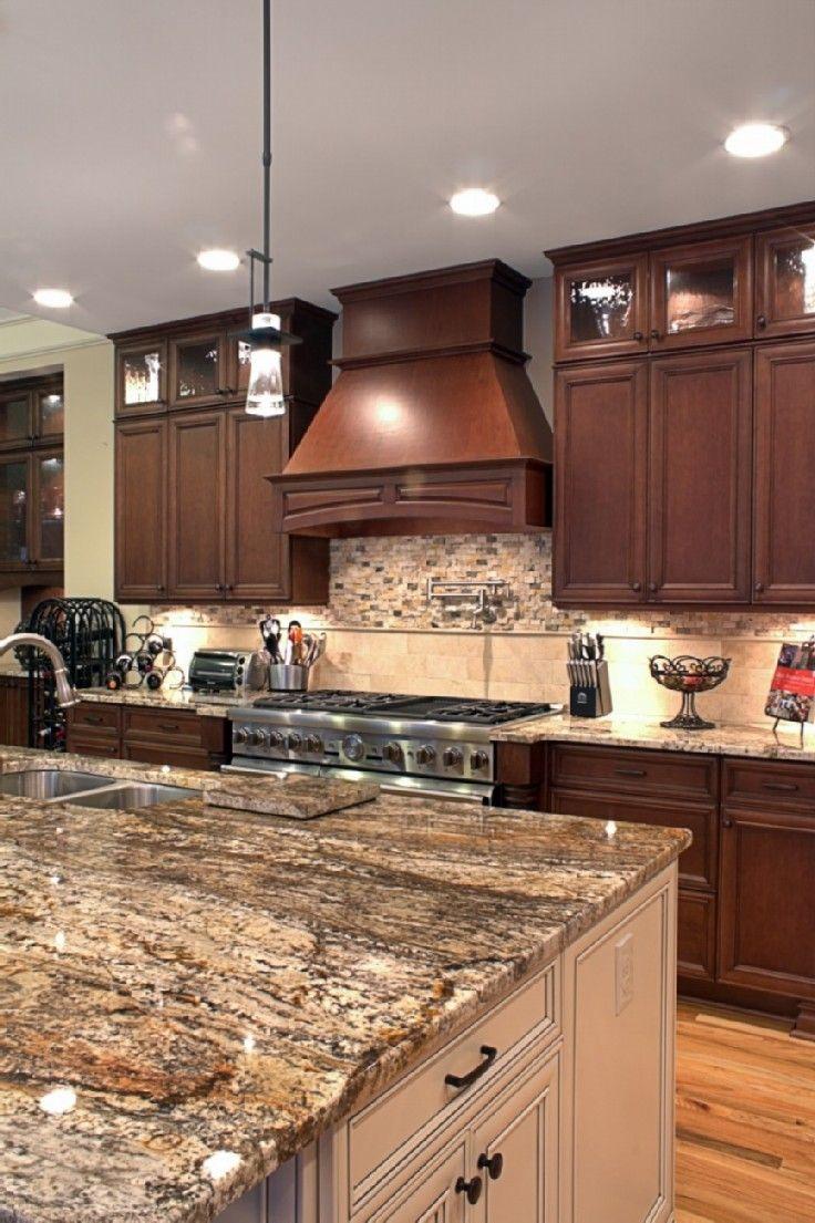 Superior Platinum Kitchens: Wood Hood Over 48 Inch Range
