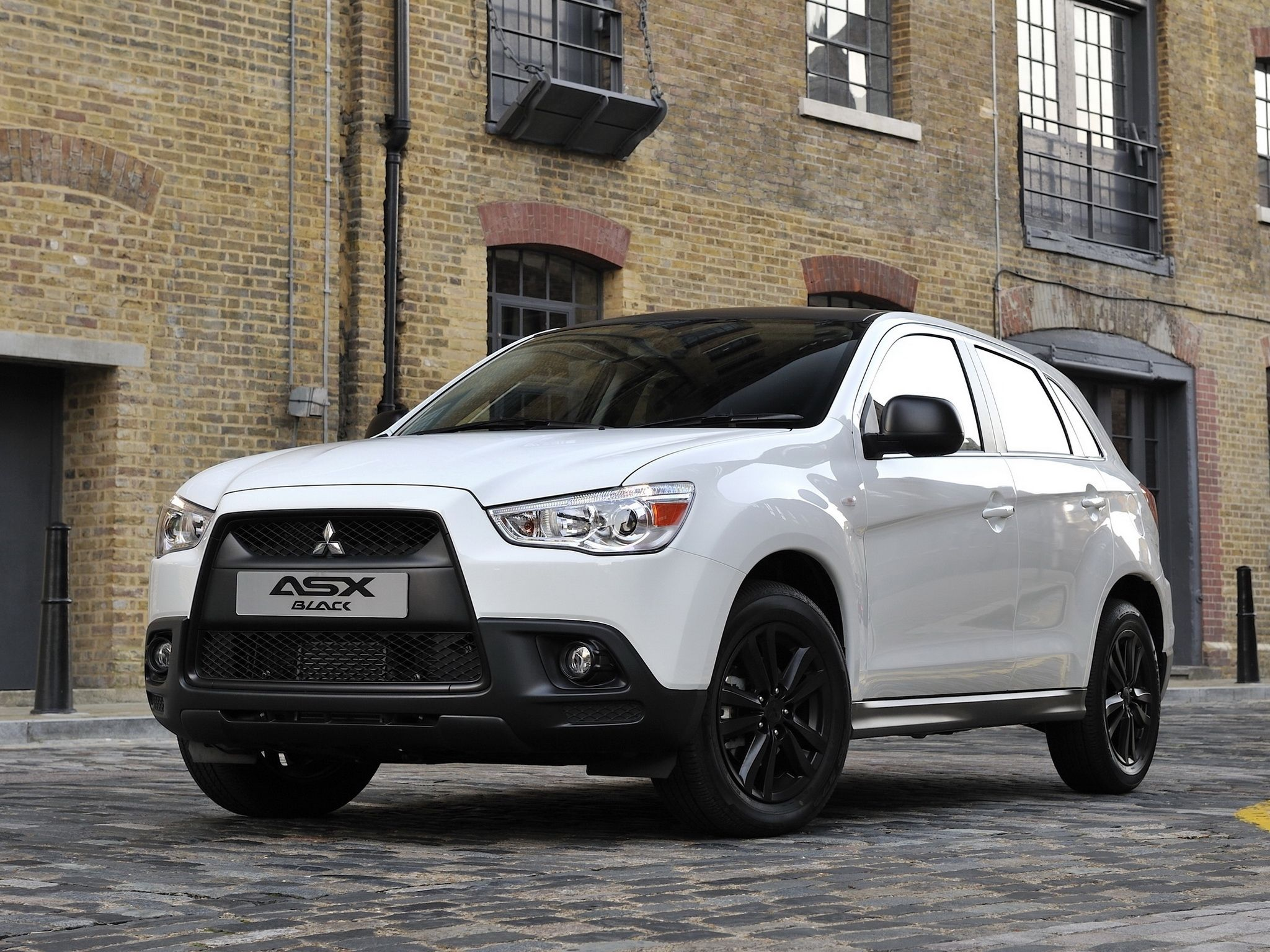 Mitsubishi asx black sold as an outlander in usa indonesia and several