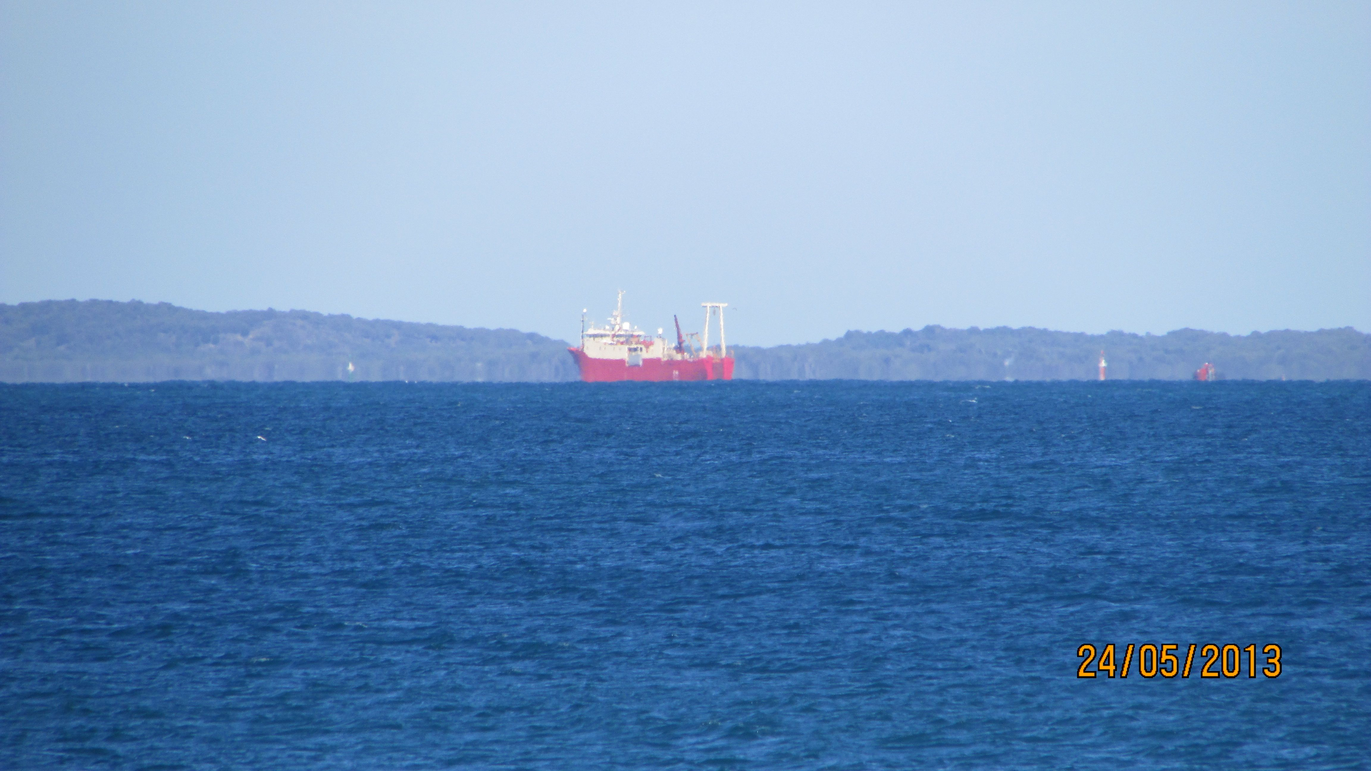 Photo Taken From South Mole Ship Anchored In Cockburn