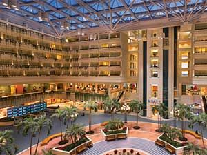 Hyatt Orlando Airport Spent Five Days There Working On A Conference And Never