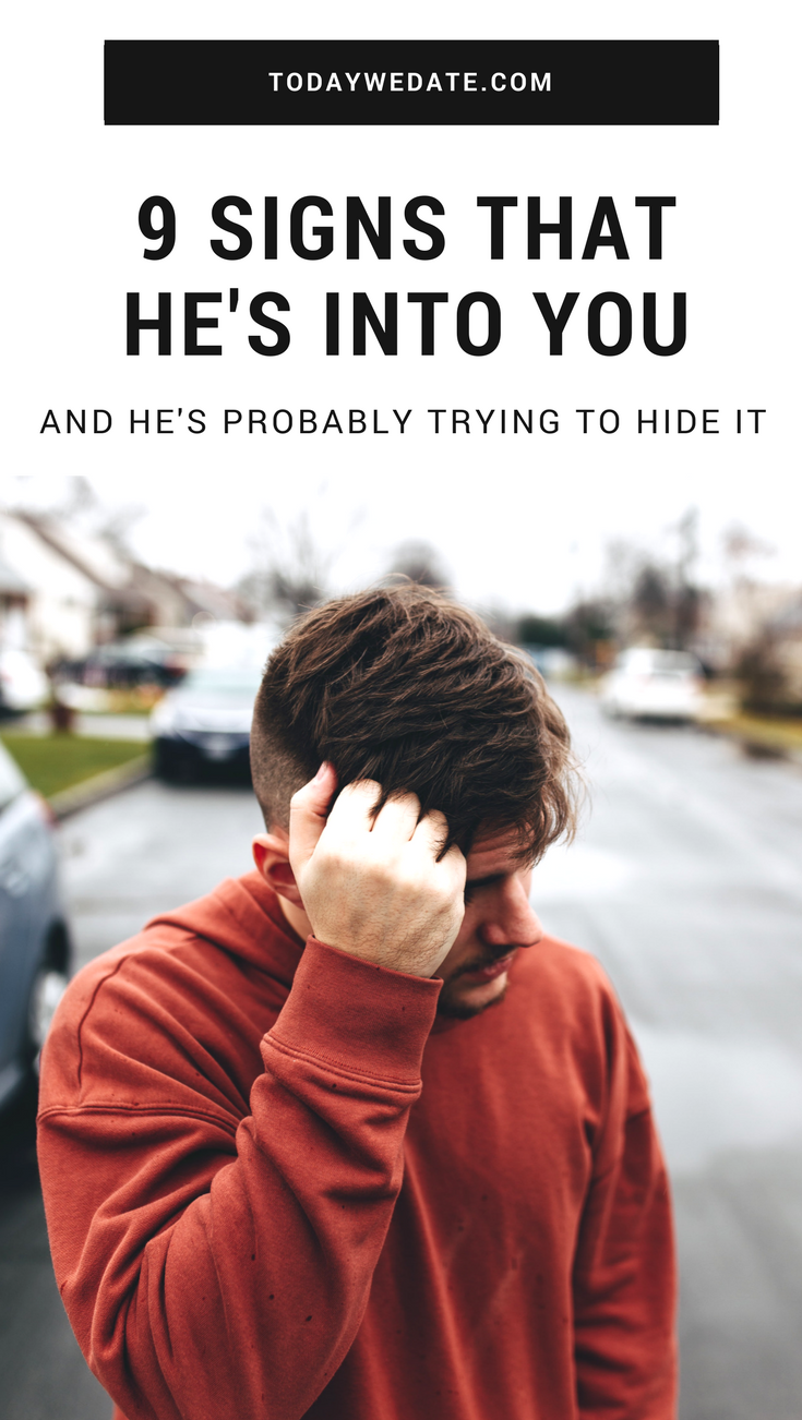How to know if a guy is into you